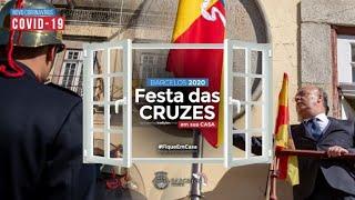 Festa das Cruzes 2020 em sua casa_Hastear da Bandeira