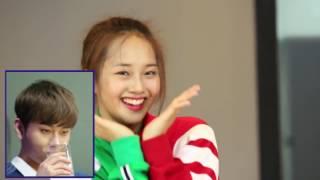 Yong Junhyung reacts to Kriesha Chu 'Plz Don't Be Sad' Dance Cover