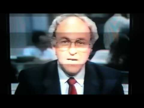 Crash of 1987- Live news reports of Stock Market Crash