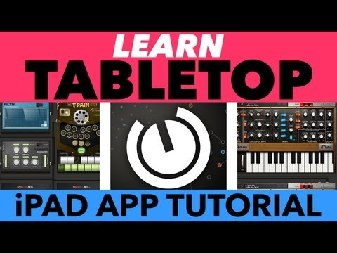 Tabletop for iPad Tutorial - Learn Tabletop App by Retronyms