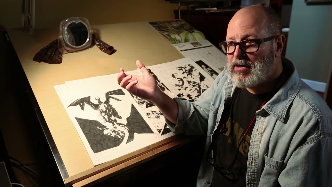 Mike Mignola takes L.A. Times through the last pages of his ...