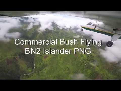 Commercial Bush Flying - BN2 Islander PNG