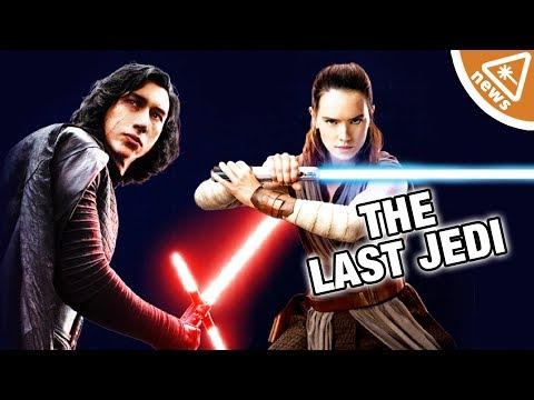 Will Kylo Ren & Rey Team Up in Star Wars The Last Jedi? (Nerdist News w/ Jessica Chobot)