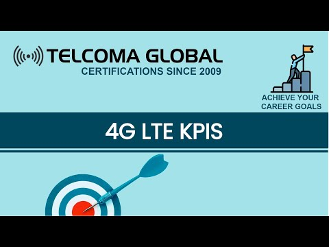 4G LTE KPI (Key Performance Indicators) course by TELCOMA Tr