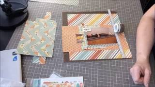 Scrapbook Process with the Weaving Color kit