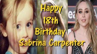 Happy 18th Birthday Sabrina Carpenter