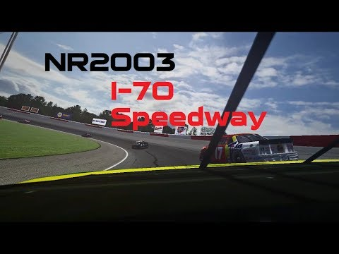 NR2003 Getting the win at historic I-70 Speedway (No Commentary)