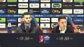 La conferenza stampa di presentazione di Gastón Pereiro