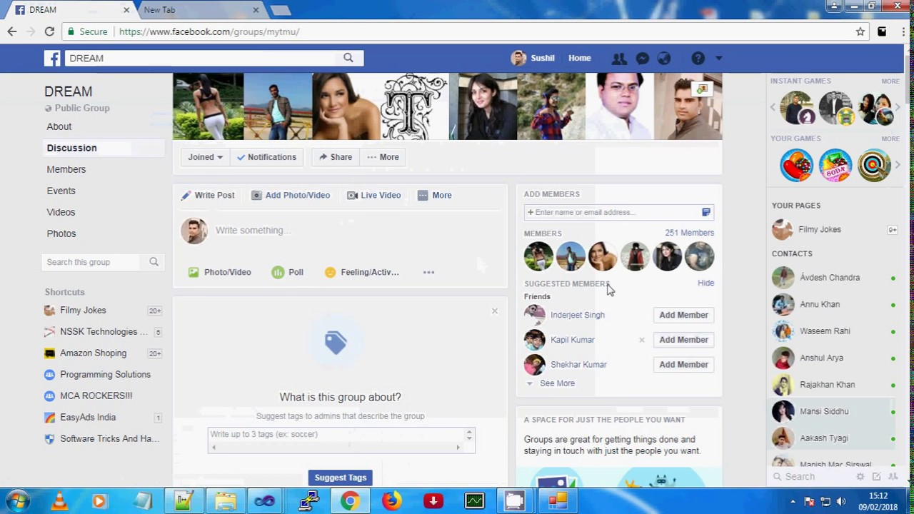 How to extract Facebook user, group and liker members ID