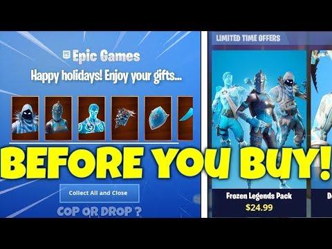 Before You Buy Frozen Legends Bundle! Fortnite Battle Royale