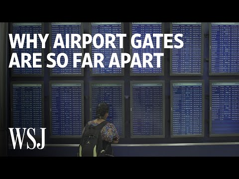 Why Your Connecting Gate May Be a Mile Walk | WSJ