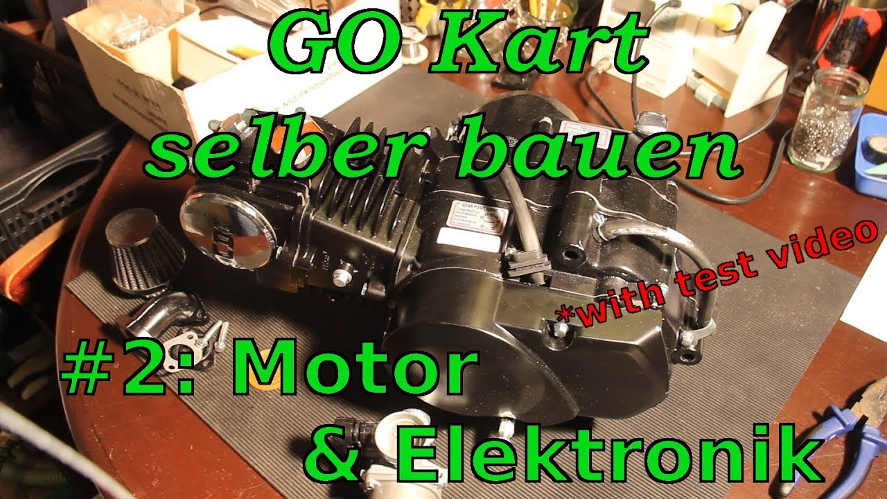 kart selber bauen 2 motor elektronik zusammenbauen youtube. Black Bedroom Furniture Sets. Home Design Ideas