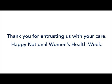 National Women's Health Week at Columbia