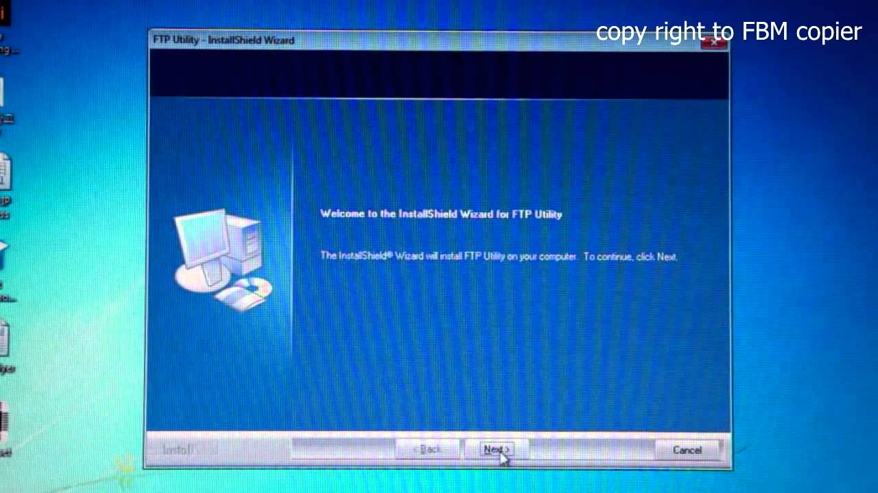 How to Install and Setup FTP Utility to Scan Documents to a Computer