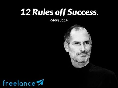 steve jobs 12 rules of success youtube