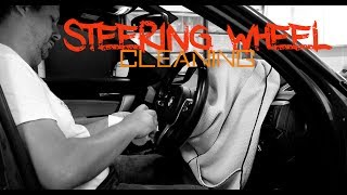 how to clean a leather steering wheel - Steering wheel cleaning guide