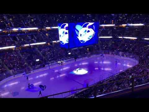 Tampa Bay Lightning Opening Pregame 11/10/18 vs Ottawa Senators
