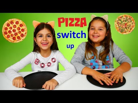 ARTEMI ARIADNI και PIZZA 🍕 SWITCH UP CHALLENGE !!! #ARTEMISTAR