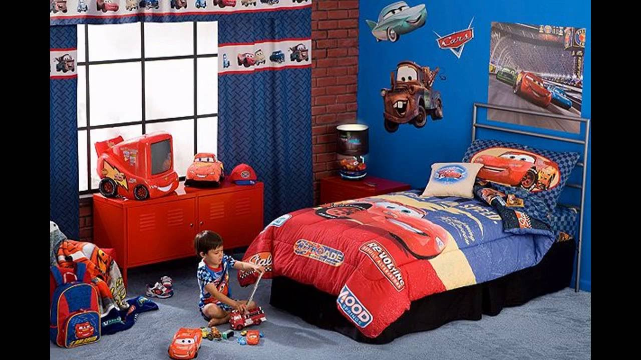 Decoraci n dormitorio disney car disney car bedroom for Decoracion de cuartos para hombres