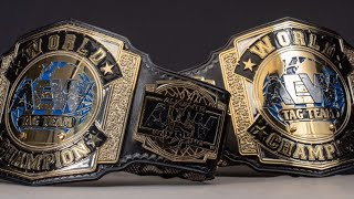 New AEW World Tag Team Championship Title Belt Review