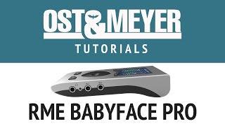 Обзор аудиоинтерфейса RME Babyface PRO