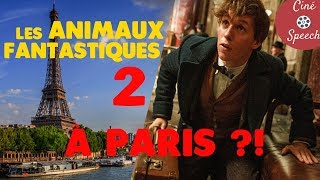 LES ANIMAUX FANTASTIQUES 2 À PARIS ?! | CinéSpeech