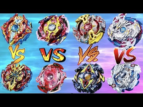 Old Dual Layer Spin Emperors VS New Evolved God Layer Spin Emperors | Beyblade Burst Battle