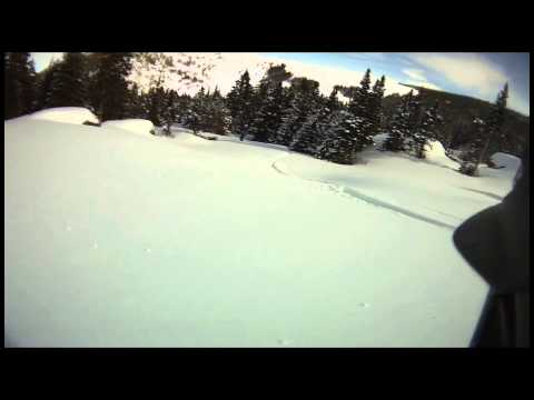 March 2 Backcountry Skiing Bighorn Mountains