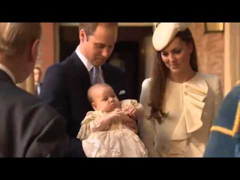 Prince George Christened At St James's Palace 23rd October 2013