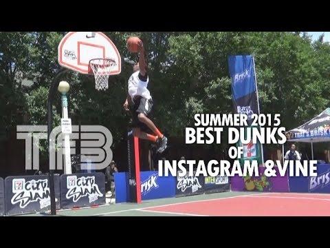 Compilation BEST DUNKS of Instagram & Vine! Crazy Dunks   Summer 2015