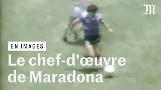 Mort de Maradona : quand il signait le « plus beau but du XXe siècle » au Mondial 1986