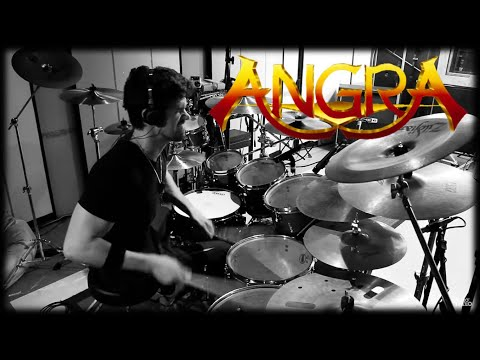 ANGRA - THE TEMPLE OF HATE | DRUM COVER | PEDRO TINELLO