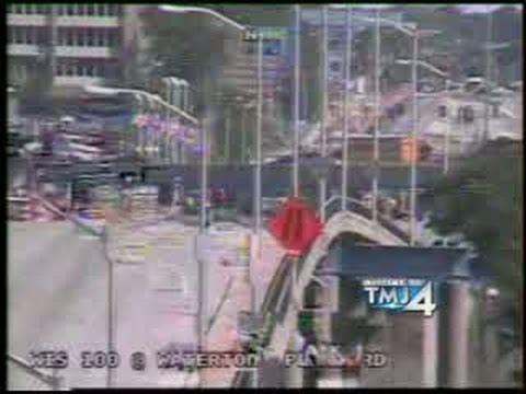 RAW VIDEO: Highway 100, U S  45 ramp closed after gas main struck