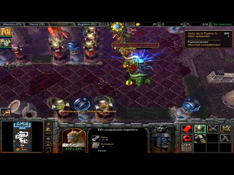 Warcraft III The Frozen Throne - NIVEL SECRETO - El cruce.