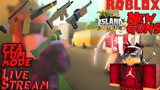 Roblox | Island Royale|| INew Gun (Code)