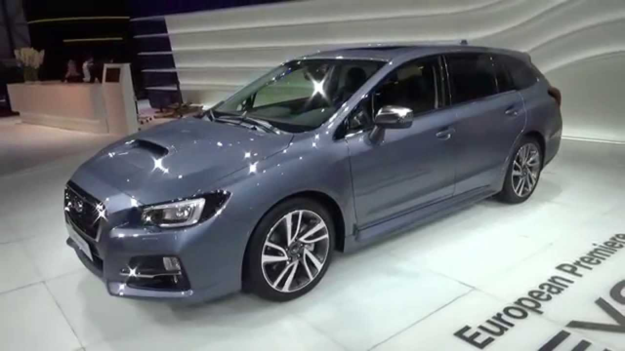 2016 - Subaru Levorg AWD - 2015 Geneva Motor Show - YouTube