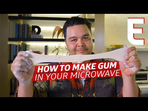 How To Make Gum In Your Microwave — You Can Do This!