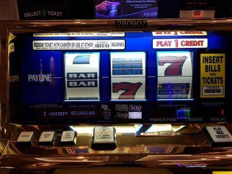 Slot Machines In Las Vegas Casinos 2017