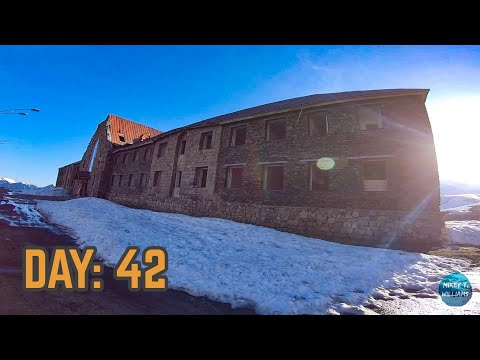 Explored an Old Soviet Hotel & Finally Made it to Azerbaijan   Cycling Central Asia: Day 42
