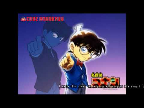 Meitantei Conan Detective Conan Ost - Step by Step - Karaoke Instrumental with Lyric Romaji