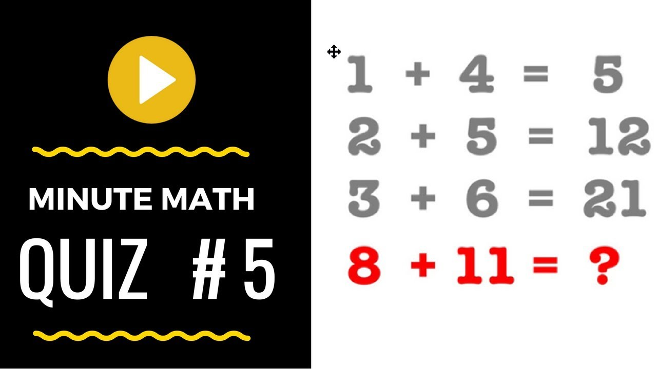 Math Puzzles With Answers In 60 Seconds The Viral 1 4 5 Puzzle