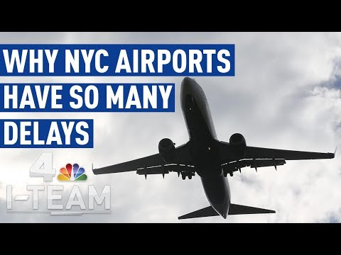 Why NYC's Airports Have The Nation's Worst Delays