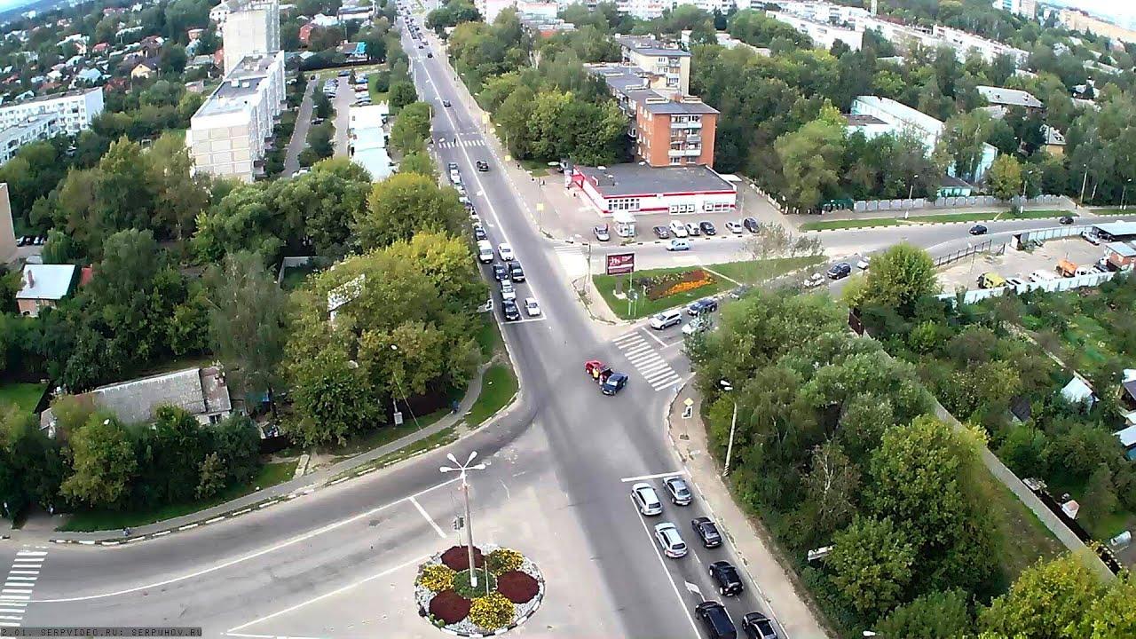 ДТП в Серпухове. Не проскочил перед автобусом... 09  ноября 2016г