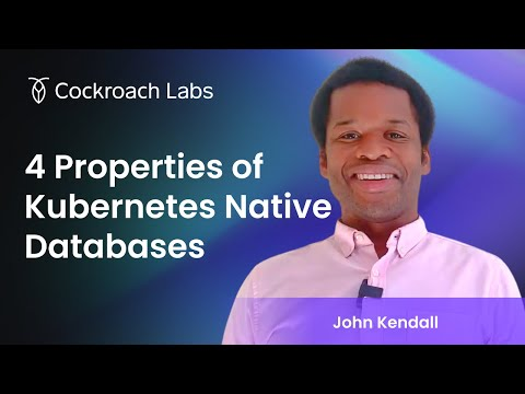 Kubernetes Native Databases