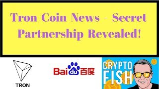 Tron Coin News - Secret Partnership Revealed!