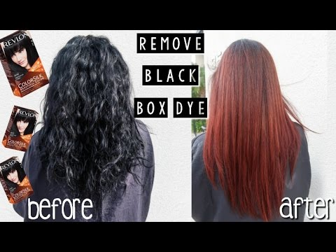 Remove black box hair color youtube remove black box hair color solutioingenieria Image collections