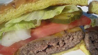 Classic Grilled Burgers / Cheeseburgers - How To Make Cheeseburgers