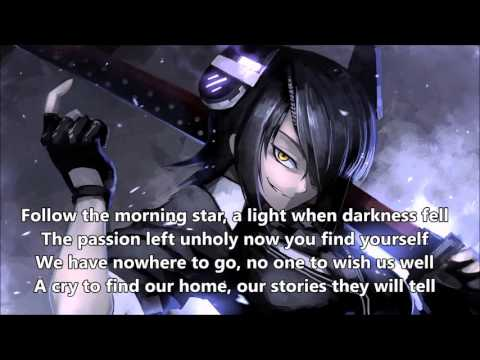 Nightcore- Fallen Angels- Black Veil Brides(Lyrics)
