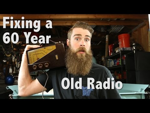 Fixing a 60 Year Old Radio