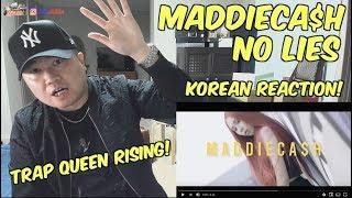 """[THAI, ENG SUB][Korean Reaction] MADDIECA$H - """"NO LIES"""" ไม่โกหก (외힙   리액션   247칠린)"""